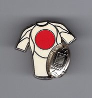 Joli Pin's EGF Clou Serti Signé ARTHUS BERTRAND - World Cup 2007 RUGBY - Maillot équipe JAPON - Rugby