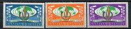 1968 - SAMOA  -  Mi. Nr. 182/184 - NH - (CW4755.17) - Dipendenza Di Ross (Nuova Zelanda)