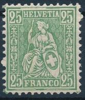 49 / 41 Sitzende Helvetia, Faserpapier Wasserzeichen Verschoben In Einwandfreier Postfrischer/** Erhaltung Vis. Hermann - Unused Stamps