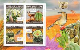 Guinea 2011**, Kakteen Und Tiere, Kakteen / Guinea 2011,  MNH, Cacti And Animals, Cacti - Sukkulenten