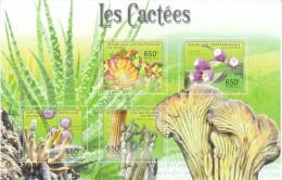 ZAR 2011**, Sukkulente Pflanzen, Kaktus, Sukkulenten/Central African Republic, MNH, Succulent Plants, Cacti, Succulents - Sukkulenten