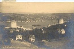 309 - 1931 Le Bosphore Devant Hissar  TRAVELLED - Turchia
