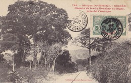 GUINEE -Chemin De Fer De Konakry Au Niger Près De Yemouna - Guinée Française
