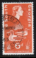 South Georgia 1963 Definitive 6d Stamp In Fine Used Condition. - South Georgia