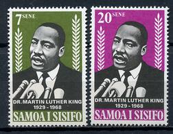 1968 - SAMOA  -  Mi. Nr. 185/186 - NH - (CW4755.17) - Dipendenza Di Ross (Nuova Zelanda)
