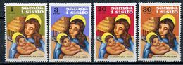 1968 - SAMOA  -  Mi. Nr. 187/190 - NH - (CW4755.17) - Dipendenza Di Ross (Nuova Zelanda)