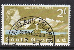 South Georgia 1963 Definitive 2s Stamp In Fine Used Condition. - Géorgie Du Sud