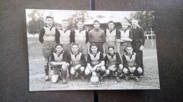 Cpa Carte Photo Amiens Foot Football - Football