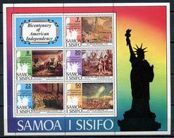 1976 - SAMOA  -  Mi. Nr. BL 10 - NH - (CW4755.18) - Nuovi