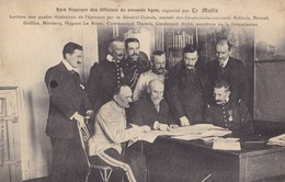 PARIS - Bois De Boulogne - Raid Hippique Des Officiers De Seconde Ligne - Lecture Des Quatre Itinéraires..... - Autres