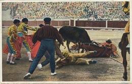 313 - 1931 Spain Corrida De Toros TRAVELLED - Corrida