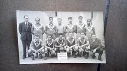 Cpa Carte Photo Coupe De France  Girondin De Bordeaux 1943 Foot Football - Football