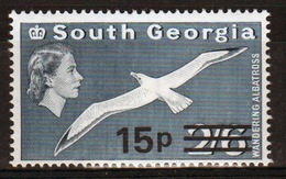 South Georgia 1971 Decimal Currency Definitive 15p Stamp In Unmounted Mint Condition. - South Georgia