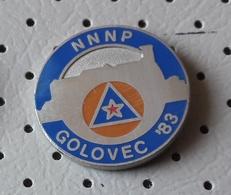Civil Defense NNNP Golovec Ljubljana  Action Nothing Can Surprise Us  SLOVENIA Ex Yugoslavia Pin - Associations