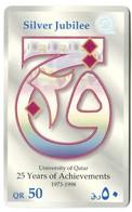 QA-QTL-AUT-0089 - Silver Jubilee (English Text) - Qatar