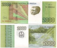Angola - 2000 Kwanzas 2012 / 2017 UNC Ukr-OP - Angola