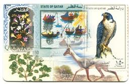 QA-QTL-AUT-0103 - Qatar Philatelic Club (Falcon) - Qatar