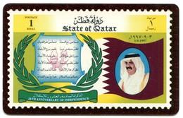 QA-QTL-AUT-0104 - Qatar Philatelic Club (Qatar Flag) - Qatar