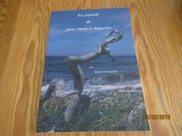 """Livre  """"En Souvenir De Saint-Pierre Et Miquelon """" De Robert Desjardins - Books, Magazines, Comics"""