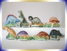 Dinosrois .. Série Complète ...Ref AFF : 46-1994 ... ( Pan14) - Animals