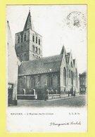 * Brugge - Bruges (West Vlaanderen) * (L.L.B. 80) L'église De Saint Gilles, Kerk, Church, Rare, Old, CPA, Unique - Brugge
