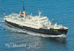 Norway - NFDS Trondheim - Steamer - MS Harald Jarl - Norvège