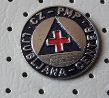Civil Defense Red Cross Competition Ljubljana Center SLOVENIA Ex Yugoslavia Pin - Associations