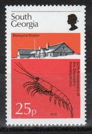 South Georgia 1976 25p Stamp To Celebrate Discovery Investigations In Unmounted Mint Condition. - South Georgia