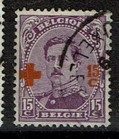 154  Obl  8 - 1918 Croix-Rouge