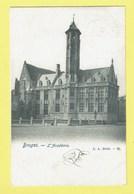 * Brugge - Bruges (West Vlaanderen) * (L.L. Brux, Nr 12) L'académie, école, School, Schule, Rare, Old, CPA, TOP - Brugge