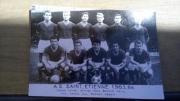 Cpa Carte St Étienne Foot Football - Football