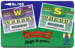SRL-36B (Ø) - Development Lottery 36SRLB, Dashed Zero (Ø) - Sri Lanka (Ceylon)