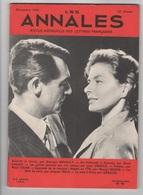 LES ANNALES 12 1958 - AUTORITE ET LIBERTE - PEINTRES DERAIN BRAQUE PASCIN PICASSO JEAN OBERLE - RENE CHAR - MUSIQUE - Journaux - Quotidiens