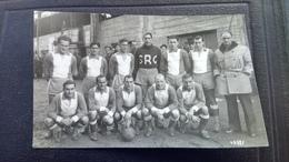 Cpa Carte  Foot Football Colmar - Football