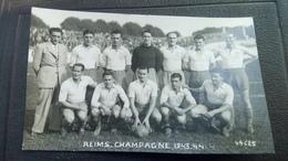 Cpa Carte  Foot Football Reims Rc - Football