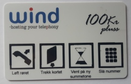 Wind  Hosting Your Telephony ,100 Units ME ??  , Privat Phonecard For Use In Prisons/hospitals  , Norway - Norway