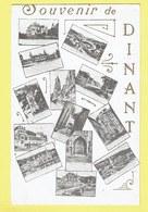 * Dinant (Namur - Namen - La Wallonie) * Souvenir De Dinant, Bonjour De, Vues Différente, Citadelle, Rare, Old - Dinant