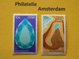South West Africa 1974, MINERALS DIAMONDS: Mi 399-00, ** - Mineralen
