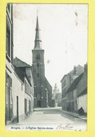 * Brugge - Bruges (West Vlaanderen) * (nr 68) L'église Sainte Anne, Kerk, Church, Kirche, Rare, Old, CPA, Unique - Brugge