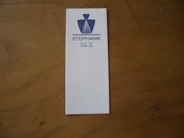 Carte Stephanie - Perfume Cards