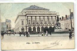 1 Postkaart Luik Le Theatre Theatre - Liege