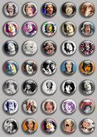 Mick Jagger Music Fan ART BADGE BUTTON PIN SET (1inch/25mm Diameter) 35 DIFF - Music