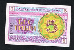 &  KAZACHSTAN  5 TYIN  1993  UNC - Kazakhstan