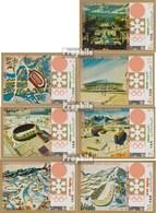North Yemen (Arab Republic.) 1258-1264 (complete.issue.) Unmounted Mint / Never Hinged 1970 Olympics Winter Games '72 - Yemen