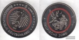 FRD (FR.Germany) 2017 F Stgl./unzirkuliert Reprint: 450.000 Polymerring: Red Stgl./unzirkuliert 2017 5 Euro Tropical Zon - Germany