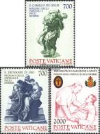 Vatikanstadt 894-896 (complete Issue) Unmounted Mint / Never Hinged 1986 Patron Saints - Vatican