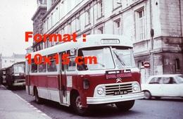 Reproduction D'une Photographie D'un Ancien Bus Citroen Avec Une Publicité Royal Pressing - Reproductions