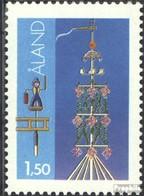 Finnland - Aland 10x Normale Libro MNH 1990 Francobolli - Aland