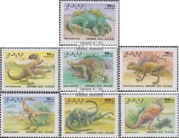 Sahara Ausgabe Der Exilregierung Ohne Gültigkeit Im Int. Postverkehr Postfrisch 1992 Prähistorische Tiere - Sahara Espagnol