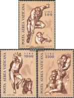 Vatikanstadt 675-677 (complete Issue) Unmounted Mint / Never Hinged 1976 Frescoes - Vatican